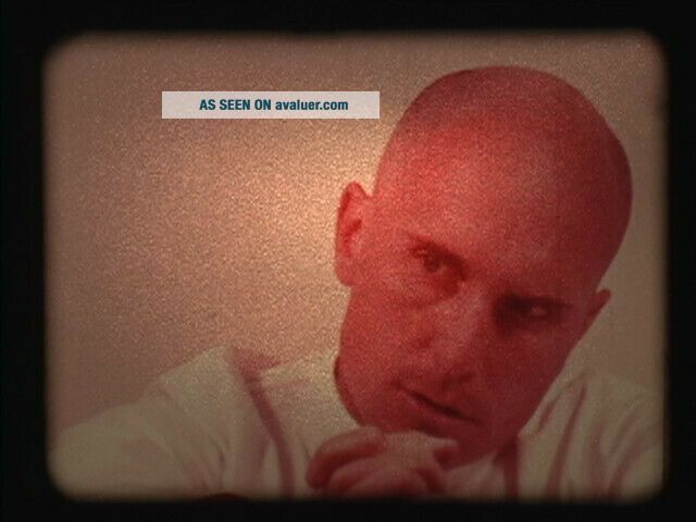 THX - 1138 16mm full feature film with rare scene George Lucas ' first feature.