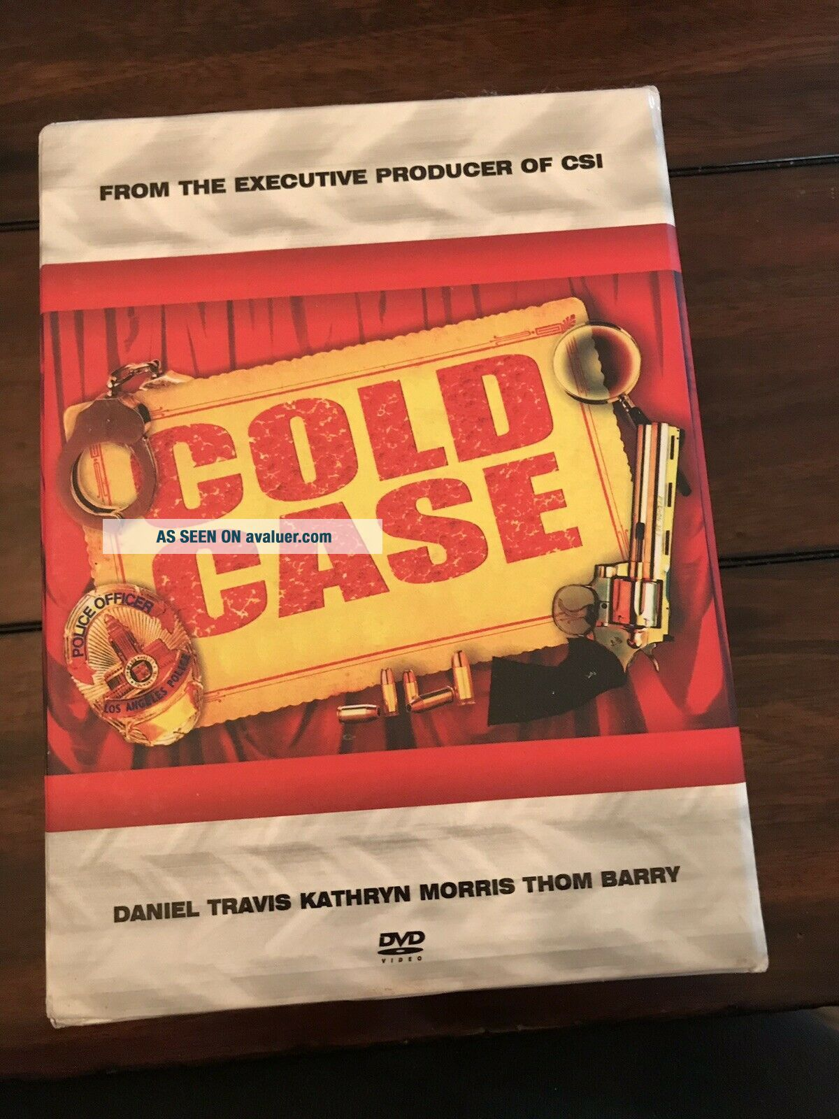 Cold Case Seasons 1 2 3 4 5 6 7 Complete Series VERY RARE 43 Disc Set 1 - 7