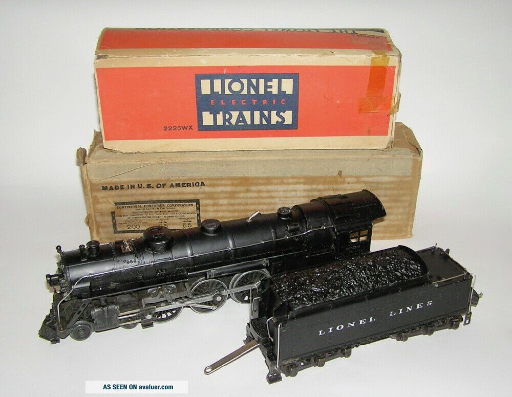 Lionel No.  763E Hudson Steam Locomotive w/ 2226WX Tender OBs NO RES (DAKOTApaul)