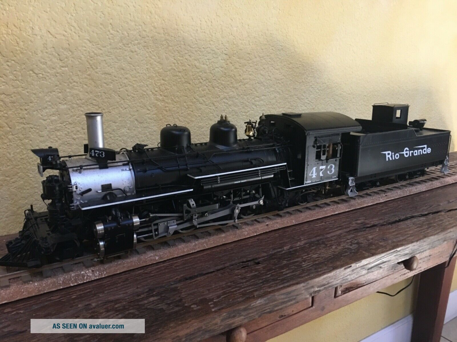 Accucraft Trains - D&RGW K28 1:20.  3 Scale,  Live Steam,  Coal