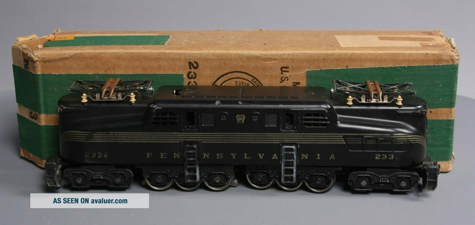 Lionel 2332 Pennsylvania Powered GG - 1 Electric Locomotive - Early Black Version
