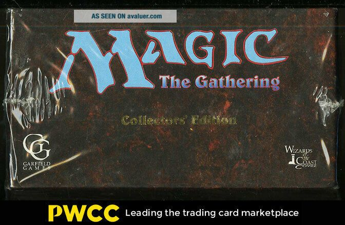 1993 Magic The Gathering Collector ' s Edition COMPLETE BOX SET Black Lotus (PWCC)