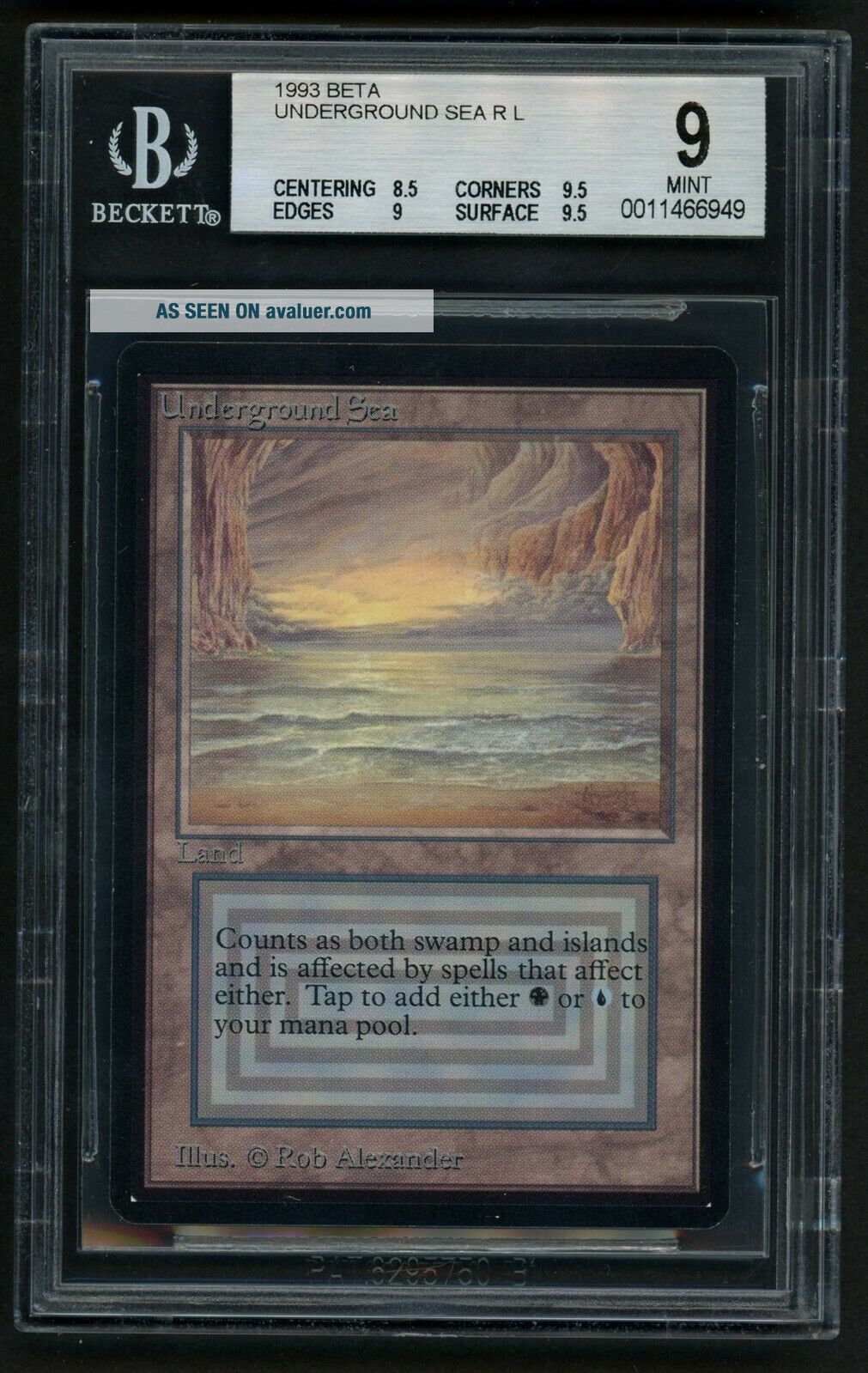 BGS 9 Beta Underground Sea MTG Beta - Kid Icarus -