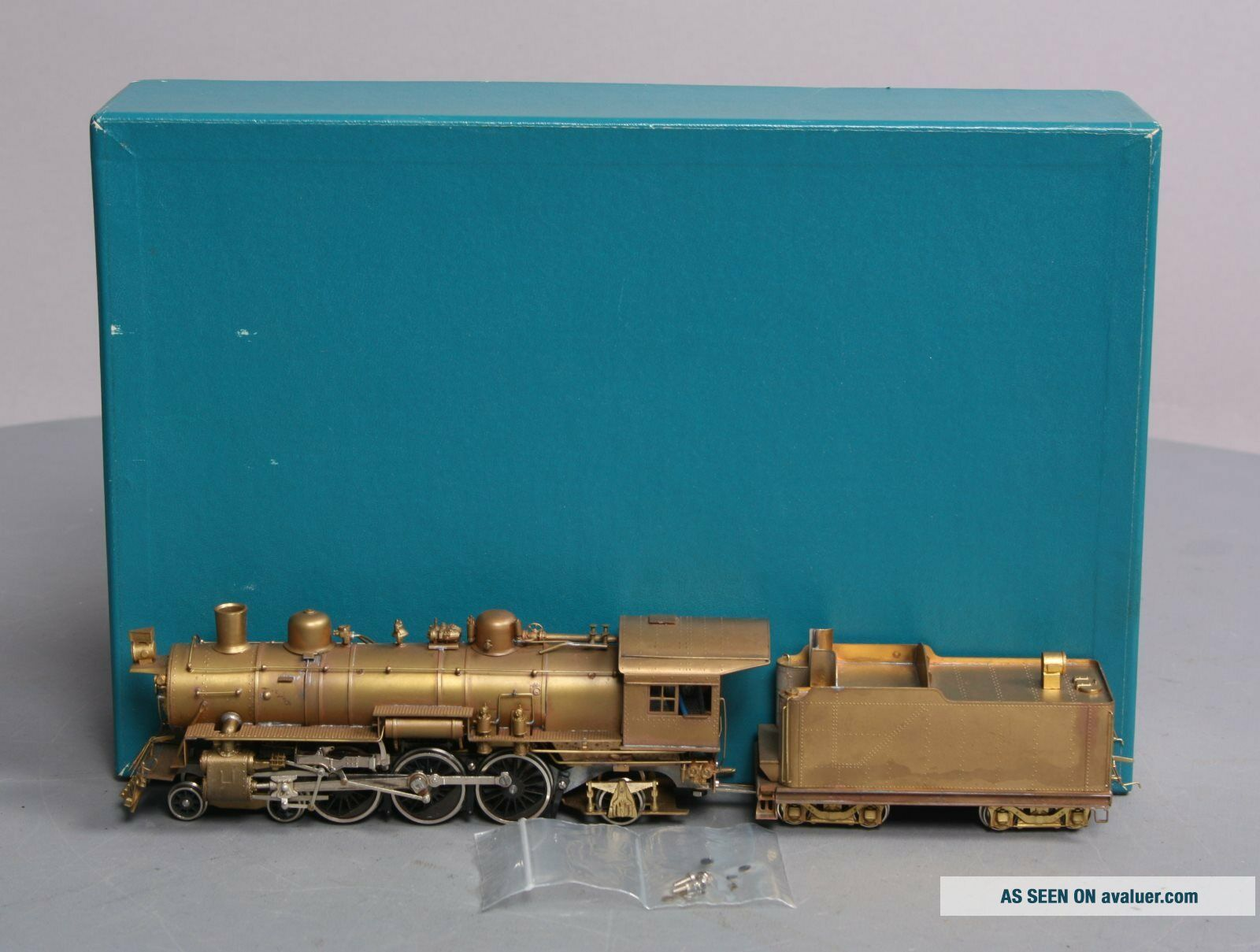 Northwest Short Line HO BRASS N&W Pacific Class E - 2a 4 - 6 - 2 Steam Locomotive & Te
