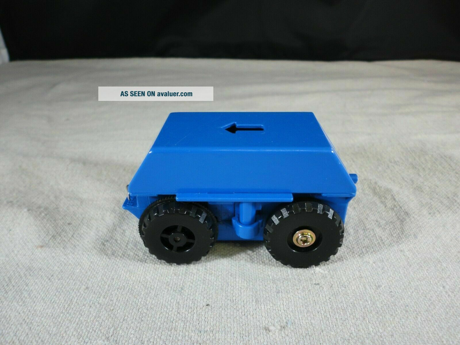 Tomy BIG Loader thomas the train - Motorized Chassis Blue 1977 - Tested/Working